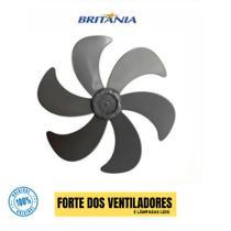 Hélice Ventilador Britânia 40 Cm 6 Pás Preta Original -