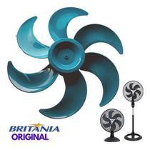Helice Ventilador Britania Protect 40 Cm 6 Pas Azul Original -