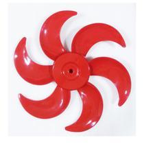 Hélice Ventilador Cadence Eros Supreme 40CM 6 pás Vermelha -