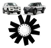 Helice Ventilador do Radiador L200 Sport L200 Outdoor L200 Savana / Pajero - 11/pás - Worx