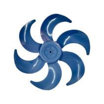 Hélice Ventilador Mallory Turbo Silence 30cm 6 pás Azul -