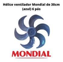 Helice Ventilador Mondial 30cm 6 Pás Original -