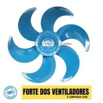 Hélice Ventilador Philco Britânia 40cm 6 Pás Azul Original -