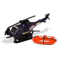 Helicóptero City Force com Fricção Preto - Cardoso -