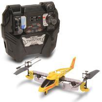 Helicóptero de Controle Remoto - Heli Twister Amarelo - DTC -