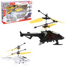 Helicoptero drone comanche c/sensor de aproximacao recarregavel usb + luz colors wb7875 wellmix - Wellkids