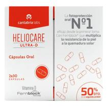 Heliocare Ultra D Pack 2x30 Capsulas -