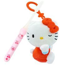 Hello Kitty Chaveiro De Pelúcia Sanrio Mais Escova - Dtc