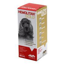 Hemolitan Gold 60ml Suplemento Cães E Gatos - Vetnil -