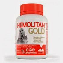 HEMOLITAN GOLD COMPRIMIDOS - frasco com 30 compr. - Vetnil -
