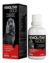 Hemolitan Gold Fr 60 Ml - Vetnil ( Vitamina P/ Cães E Gatos) - Agropet Nutrimed