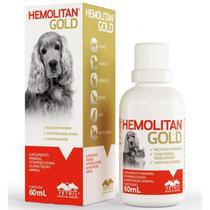 Hemolitan Gold Gotas - 60 ml - Vetnil