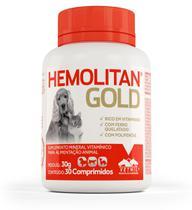 Hemolitan Gold Suplemento Vitamínico - Vetnil