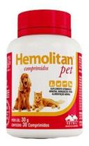 Hemolitan Pet - 30 Comprimidos - Vetnil
