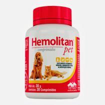 HEMOLITAN PET COMPRIMIDOS - frasco com 30 compr. - Vetnil -