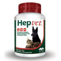 Hepvet - 30 Comprimidos - Vetnil -