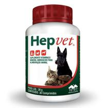 Hepvet 30g (30 Comprimidos) - Vetnil -