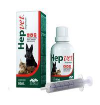 Hepvet Suspensão Vetnil para Cães e Gatos 60ml -