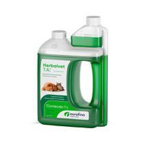 Herbalvet Higienizador e Desinfetante de Ambientes Ouro Fino 1l - Ourofino