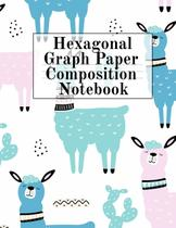 Hexagonal Graph Paper Composition Notebook - Inge baum