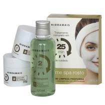 Hidramais Home SPA Facial Kit - Tônico + Máscara + Hidratante -
