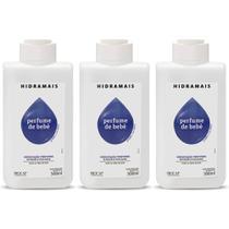 Hidramais Perfume De Bebê Loção Hidratante 500ml (Kit C/03) -