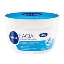 Hidratante Facial Nívea - Creme Facial Nutritivo - Nivea