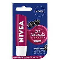 Hidratante Labial Amora Shine 24h - Nivea -