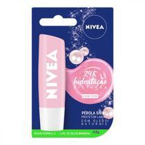 Hidratante labial com cor pérola shine nivea 4,8g -