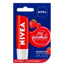Hidratante Labial Morango Shine 24h - Nivea -