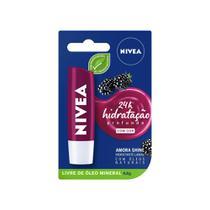 Hidratante Labial Nivea Amora Shine 4,8g -
