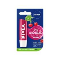 Hidratante Labial Nivea Cereja Shine 4,8g -