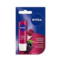 Hidratante Labial Nivea Lip Care Amora 4,8g -