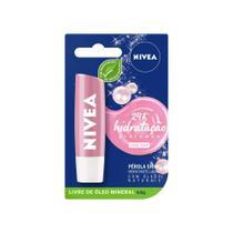 Hidratante Labial Nivea Pérola Shine 4,8g -