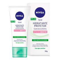 Hidratante Protetor Nivea - Controle Do Brilho & Oleosidade Fps30 -