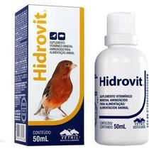 Hidrovit Suplemento Vitaminico Para Aves Vetnil - 50 ML -