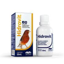Hidrovit Ventil para Pássaros Roedores - 50ml - Vetnil