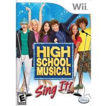 High School Musical Sing It - Wii - Nintendo
