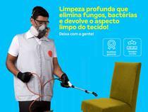 Higienização de cadeiras (até 6 cadeiras)  secagem rápida, devolve aspecto limpo do tecido - Cdf