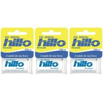 3fa835fc0 Hillo Fio Dental 100m (Kit C 03)