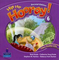 Hip hip hooray! 6 class audio cd (2) - Pearson audio visual -