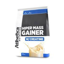 HIPER MASS GAINER (3 Kg) - Baunilha - Atlhetica Nutrition -