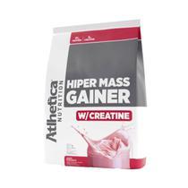 HIPER MASS GAINER (3 Kg) - Morango - Atlhetica Nutrition -