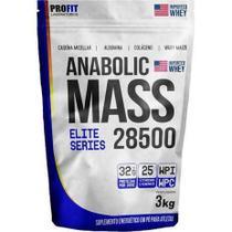 Hipercalórico Anabolic Mass 28500 3kg CHOCOLATE- Profit Labs - PROFITTTTTTT
