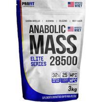 Hipercalórico Anabolic Mass 28500 3kg - Profit Labs - Profittttttt