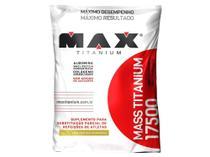 Hipercalórico Mass Titanium 17500 Refil 3 kg - Baunilha - Max Titanium -