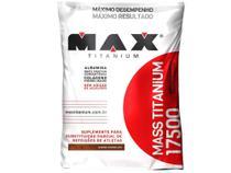 Hipercalórico Mass Titanium 17500 Refil 3 kg  - Chocolate - Max Titanium -
