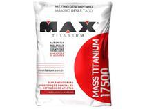 Hipercalórico Mass Titanium 17500 Refil 3 kg - Morango - Max Titanium -