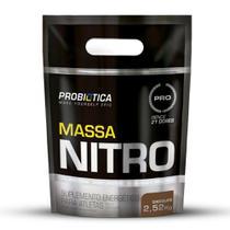 Hipercalórico Massa Nitro Refil Pouch Probiótica 2,52kg -