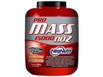 Hipercalórico / Massa Pro Mass No2 15000 3Kg - Morango e Banana - Neo Nutri